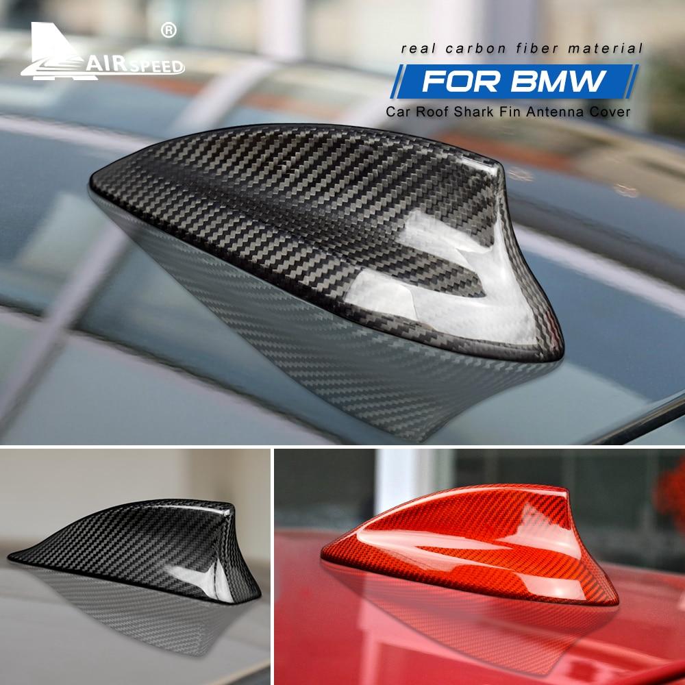 Carbon Fiber Shark Fin Antenna Cover for BMW E90 E92 E46 E36 E60 E70 F20 F30 F10 F22 F31 F15 F21 G30 G20 G01 G05 G07 Accessories