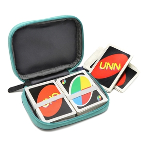 Image 4 - For Travel Carrying UNO Case Compatible Card Game Card package key case digital product,headphone wire storage bag (No card)