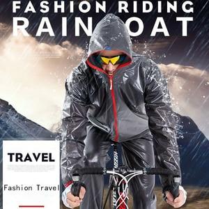 Image 3 - Chubasquero deportivo para hombre y mujer, traje impermeable para pescar al aire libre, a la moda, Unisex, para montar en motocicleta, impermeable, para adultos