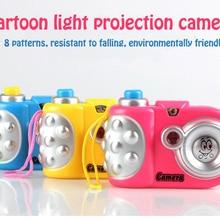 Детская камера детская игрушка брелок раннее образование Мини Вспышка затвор звук проектор 8 животный узор игрушка для детей подарок