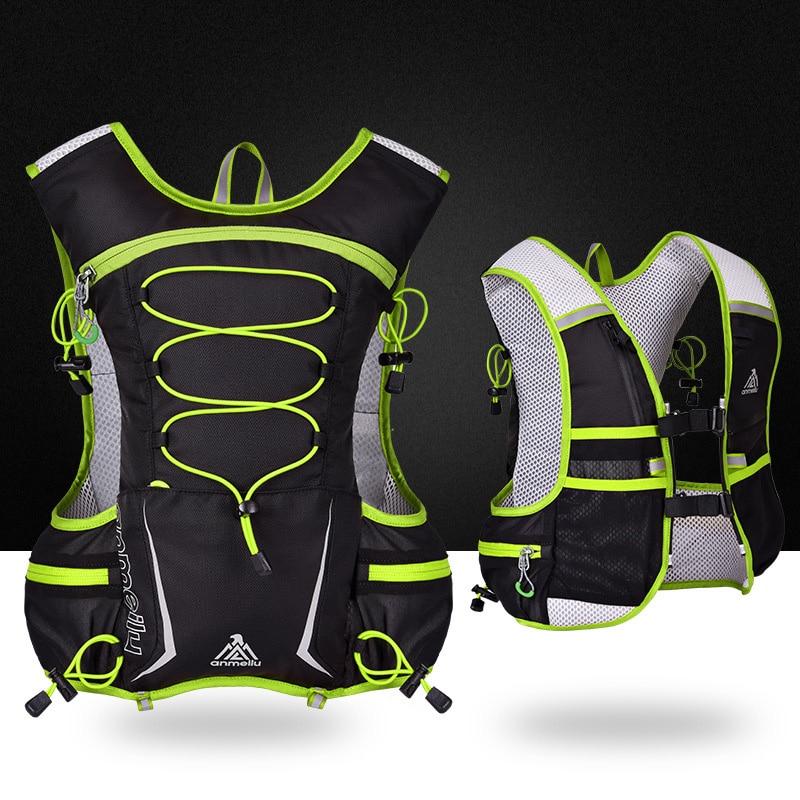 5L Running Bag Cycling Hiking Outdoor Sports Bags Men Women  Kettle Water Bag Waterproof Tear Resistant Marathon Vest Pack