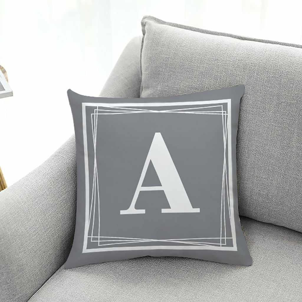 2020 kanepe kapak yastık kılıfı ingilizce mektup desen perde kanepe araba atmak minder örtüsü sevgililer günü yastık ev dekor