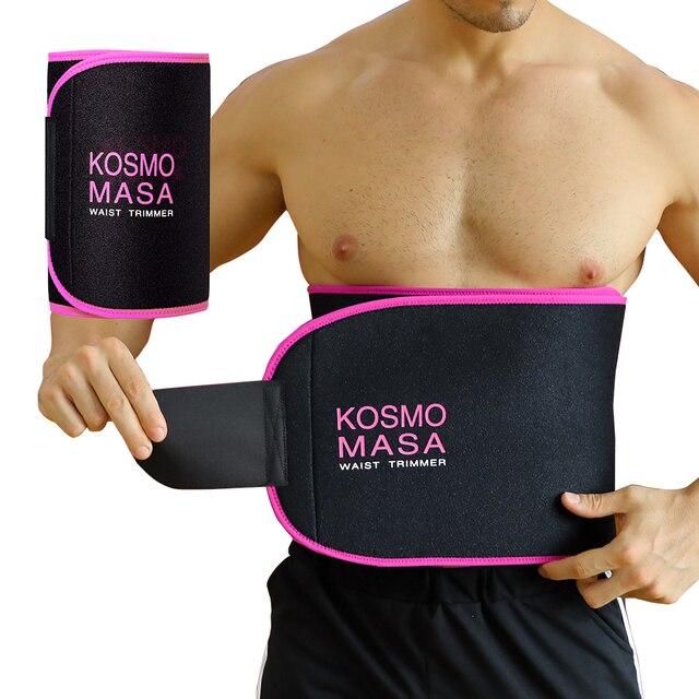 Waist Trimmer For Men Slimmer Sweat Belt For Women Waist Trainer For Weight Loss Stomach Wrap Band Body Cincher Fat Belly Strap 2