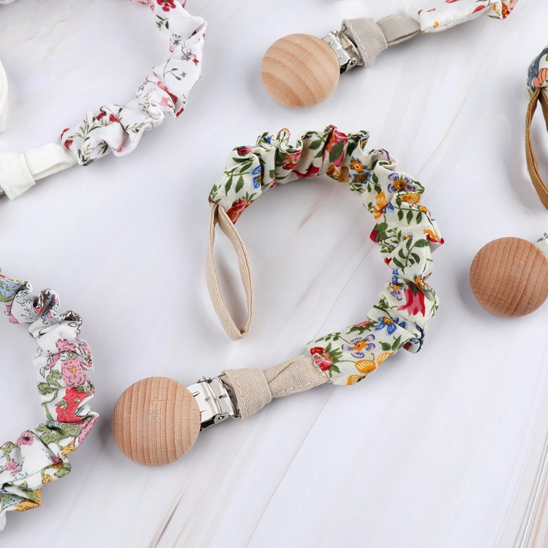 Retro Baby Pacifier Clip Pacifier Chain Dummy Clip Nipple Holder For Nipples Children Pacifier Clips Teether Anti-drop Rope