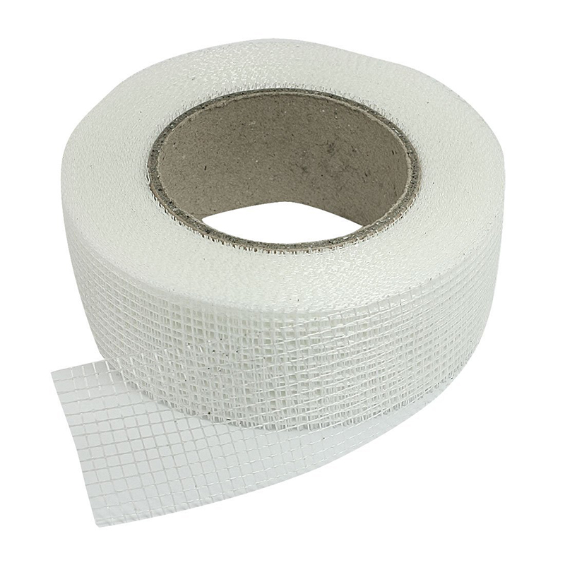 Self-adhesive White Fiberglass Mesh Tape For Cracks Holes