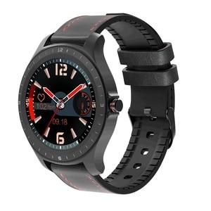 Image 3 - BlitzWolf BW HL2 1.3 אינץ מלא עגול מגע מסך קצב לב לחץ דם צג בהירות בקרת 50 שפה חכם שעון
