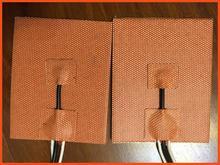 240mmX240mm 200W 12V w NTC100K termistor 3M PSA grzałka silikonowa drukarka 3D grzałka grzałka grzałka grzałka silikonowa tanie tanio Włókniny tkaniny 101 W Up 15 Godzin i Up