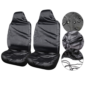 1 pcs Car seat cover Single black auto parts car driving co-driver Waterproof Dustproof