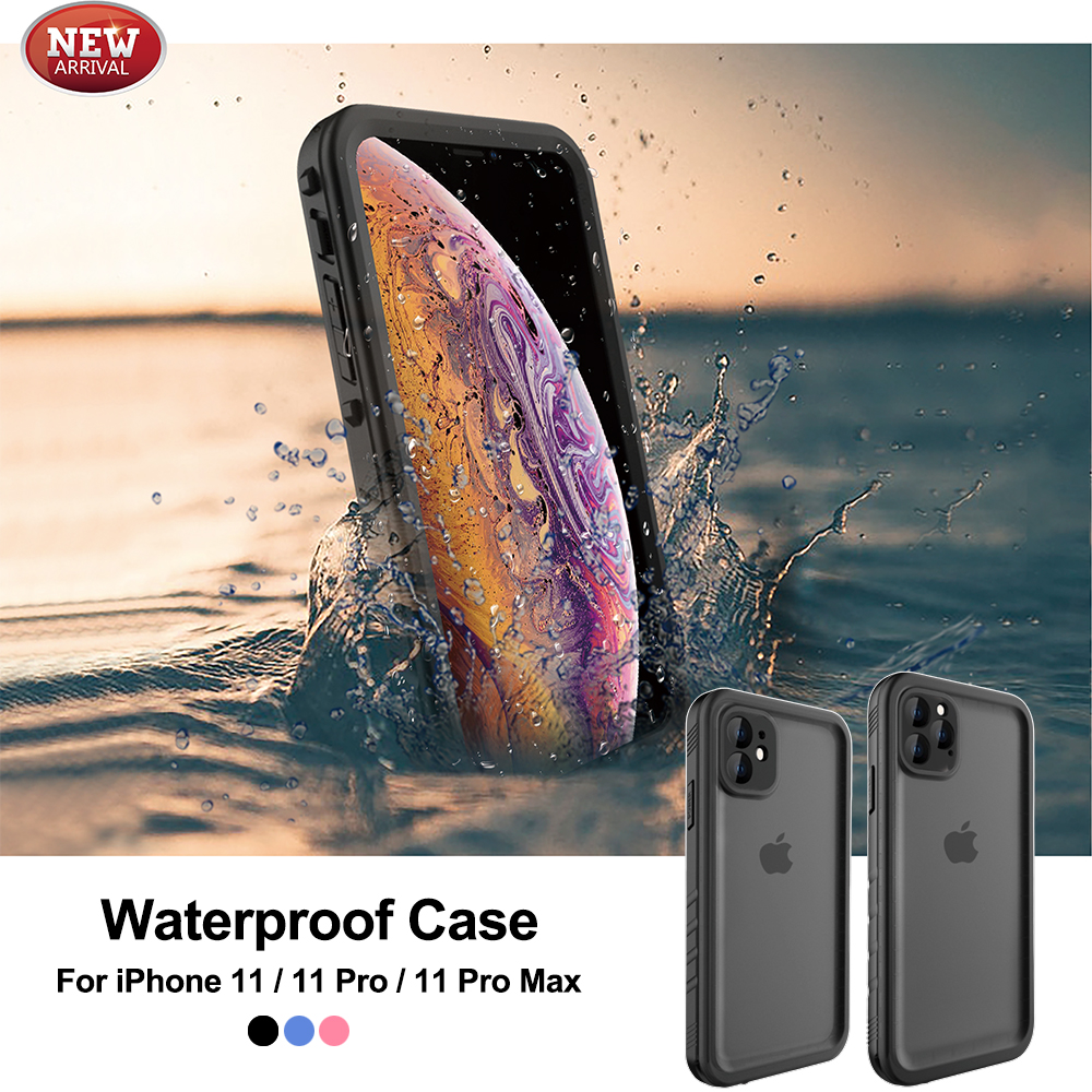 2019 New Extreme Sports Waterproof Case For IPhone 11 11Pro 11 Pro Max ShockProof Swimming Diving Coque Cover Underwater Case