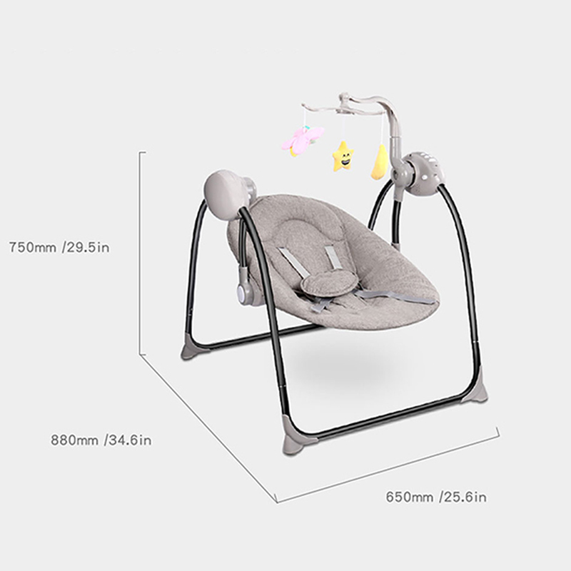 IMBABY New Baby Electric Rocking Chair Cradle Foldable Baby Comfort Recliner for Newborn Bebe Safety Comfort IMBABY New Baby Electric Rocking Chair Cradle Foldable Baby Comfort Recliner for Newborn Bebe Safety Comfort Rocker Swings Chair