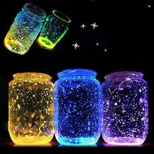 Luminous Sand Fish Tank Noctilucent Bright Glow Powder Fluorescent Particle Sands for Party Wishing Bottle