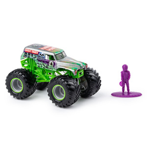 Image 2 - Original SPIN Master Monster Jam monster truck boy child toy alloy car model inertia four wheel drive off road vehicle gift