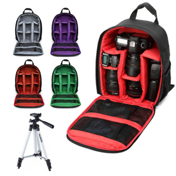Camera Bag Digital Dslr Bag Waterproof Shockproof Breathable Camera Backpack For Nikon Canon Sony Small Video Photo Bag Backpack big capacity photography camera waterproof shoulders backpack video tripod dslr bag w rain cover for canon nikon sony pentax