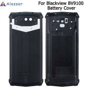 Image 1 - Alesser Blackview BV9100 pil kapağı ile anti vurmak yedek koruyucu pil kapağı 6.3 Blackview BV9100