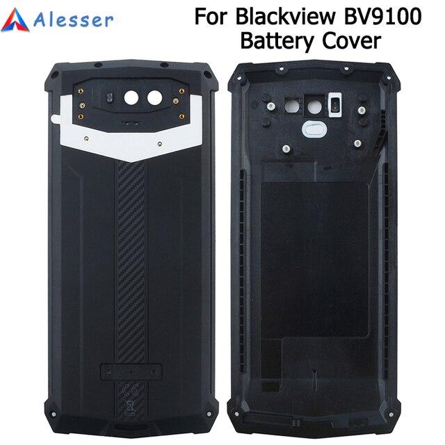 Alesser Blackview BV9100 pil kapağı ile anti vurmak yedek koruyucu pil kapağı 6.3 Blackview BV9100