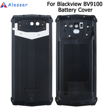 Alesser עבור Blackview BV9100 סוללה כיסוי עם אנטי לדפוק החלפת מגן סוללה כיסוי 6.3 Blackview BV9100
