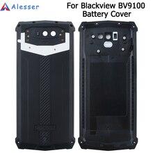Alesser Voor Blackview BV9100 Batterij Cover met Anti klop Vervanging Beschermende Batterij Cover 6.3 Voor Blackview BV9100