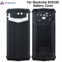 Alesser dla Blackview BV9100 pokrywa baterii z zabezpieczeniem przeciwstukowym pokrywa ochronna baterii 6.3 dla Blackview BV9100