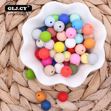12mm 20pc Silicone Beads Food Grade Silicone Baby Teething Products