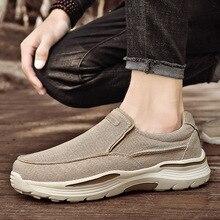 Mens Shoes Casual Canvas Slip On Classic Walking Shoe Men Big Size 46 47 48 New Fashion Comfortable Breathable Alpargatas Hombre
