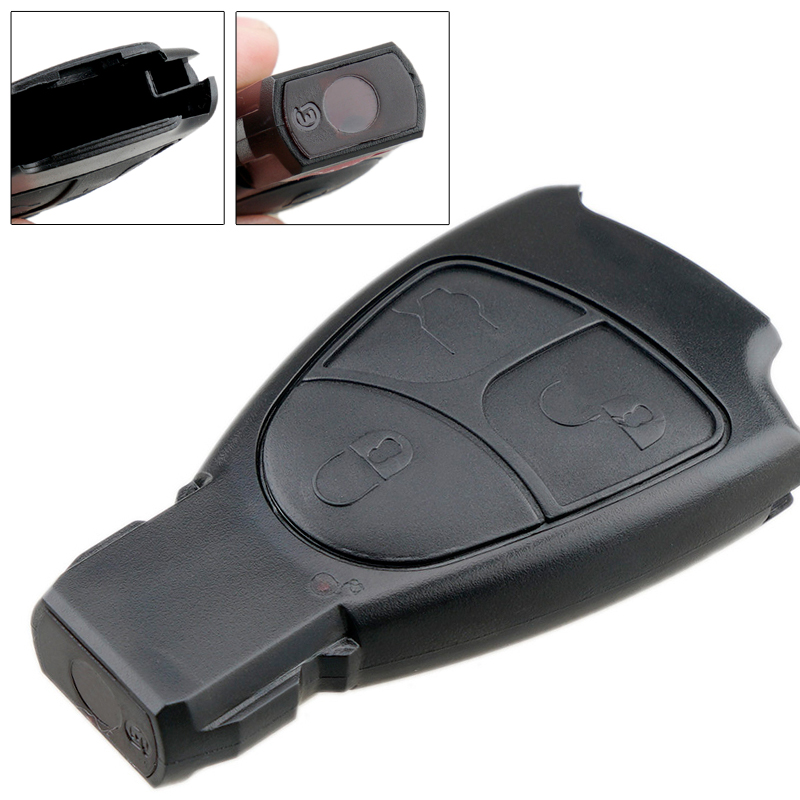 3 Buttons Car Key Smart Shell Case Replacement Remote Cover Car Key <font><b>Parts</b></font> Fit for Mercedes Benz W168 W202 W203 W208 <font><b>W210</b></font> W211 image