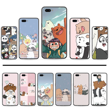 bear Kawaii Bear Panda Yellow Animal Custom Photo Soft Phone Case For OPPO A ax 3 5 3 37 57 59 37 73 75 83 71 2018 11 1k s PRO(China)
