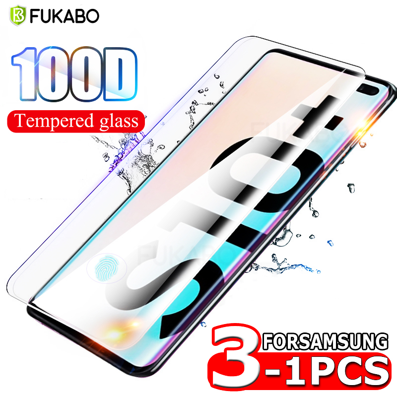 Clear Tempered Glass For Samsung Galaxy A10 A50 A20 A70 A51 Screen Protector For A30 A80 A7 2018 A71 M10 M20 HD Full Cover Film