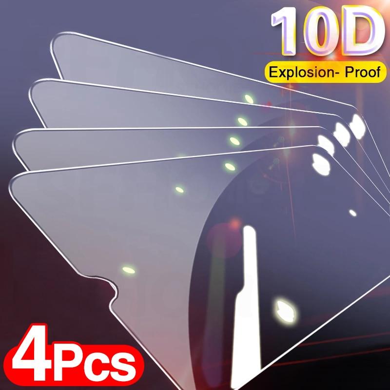 4PCS Full Protective Glass For Xiaomi Redmi Note 8 7 9 Pro Max Tempered Screen Protector For Redmi Note 7 8 9 Glass Film|Phone Screen Protectors|   -