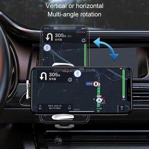 Image 5 - Uchwyt ładowarki samochodowej szybkie ładowanie dla IPhone 12 Pro Max 12 Pro 12mini uchwyt telefonu dla iphone 11Pro Max 11 Samsung S10 S20