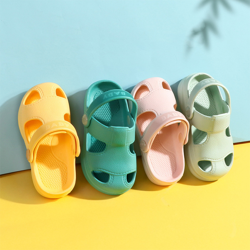 Baby Sandals Toddler Little Kids Summer Cute Clogs Non-Slip Girls Boys Garden Shoes Beach Pool Shower Slippers