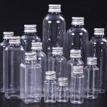 1PCS 5ml ml ml 30 20 10ml 50ml 60ml 100ml de Creme Vazio Loção Container Cosméticos Kits de Viagem Pequena Garrafa de Plástico com Tampa de Rosca