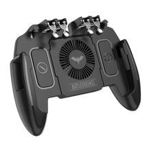 Six Finger PUBG Mobile Game Controller Gamepad Trig