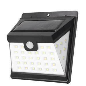 Outdoor Lighting 40LED Solar Collector Light Waterproof Outdoor LED Lamp with PIR Motion Sensor Outdoor Street Light