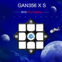 2019 New GAN356XS Magnetic 3x3 Speed cube Professional Speed Magic Cube GAN356 X S Cubo Magico GAN356XS Puzzles for Children