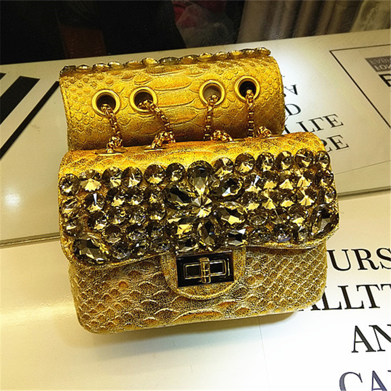 Bolsas de Noite Bolsa do Mensageiro Feminina e Bolsas Luxo Diamante Moda Crocodilo Corrente Ombro Alta Qualidade Bolsa Bolso Mujer