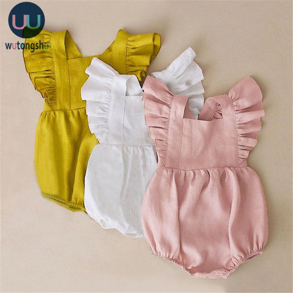 Летние комбинезоны с оборками для маленьких девочек; Одежда принцессы для малышей; Bebe Roupas; Одежда для новорожденных; Комбинезоны для младенцев; Одежда для малышей|Ромперы| | АлиЭкспресс