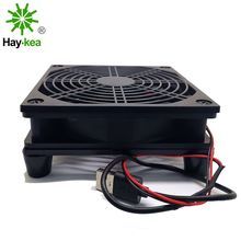 Router Cooling Fan DIY PC Cooler TV Box Wireless Silent Quiet DC 5V USB power 120mm