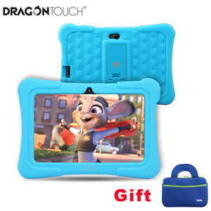 Dragon Touch Y88X Plus Kids Tablet 7 inch HD IPS Display Touchscreen Android 8.1 WiFi 1GB/16GB with Tablet Bag Android Tablet PC