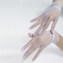 Damskie letnie odporne na promieniowanie Uv rękawiczki do jazdy siatkowe rękawiczki kabaretki siatkowe solidne cienkie letnie rękawiczki damskie rękawiczki damskie rękawiczki damskie tanie tanio SHESLILAC Stałe DO NADGARSTKA Adult CN (pochodzenie) WOMEN Lace moda gloves women Gants Handschuhe Guantes Luvas gloves winter