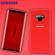 SAMSUNG Note 9 Case Official Original Silky Liquid Soft Silicone Fitted Full Cover Samsung Galaxy 8 & Retail Package