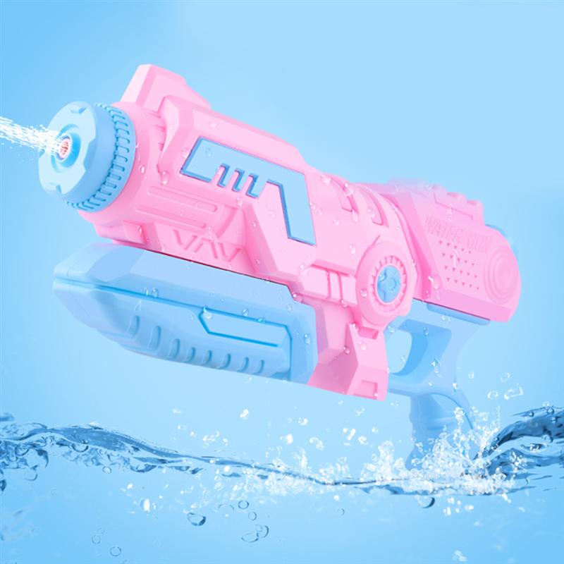 1pc Water Soaker Pulling Type Nozzle Water Shooter Toy Water Soaker Toy for Outdoor Beach Swimming Pool  Random Color