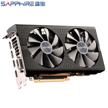 SAPPHIRE RX 580 4GB AMD Radeon Grafikkarten GPU Gaming PC Video Karte RX580 4GB GDDR5 256bit Verwendet RX580 Video Karten