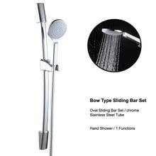 Bathroom Shower Set Stainless Steel Shower Head Bar Stainless Steel Pipe Stainless Steel Adjustable Shower Sliding Bar Holder stainless steel