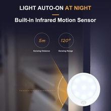 9 Светодиодная подсветка под шкаф pir датчик движения настенный