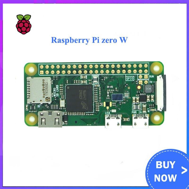 Original frambuesa Pi Zero W placa 1GHz CPU 512MB RAM con construido en Wi-Fi y Bluetooth RPI 0 WOriginal frambuesa Pi Zero W Junta