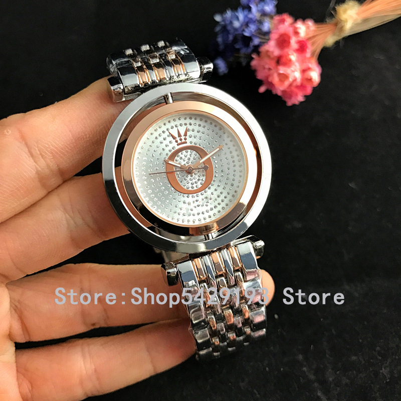 2019 New Women's Watches Brand Fashion Watch Women Luxury Pandoraes Rose Gold Bracelet Woman Watches Ladies Dress Clock