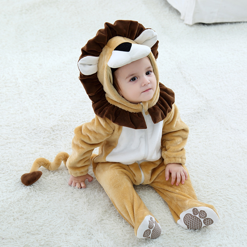Infant lion costume