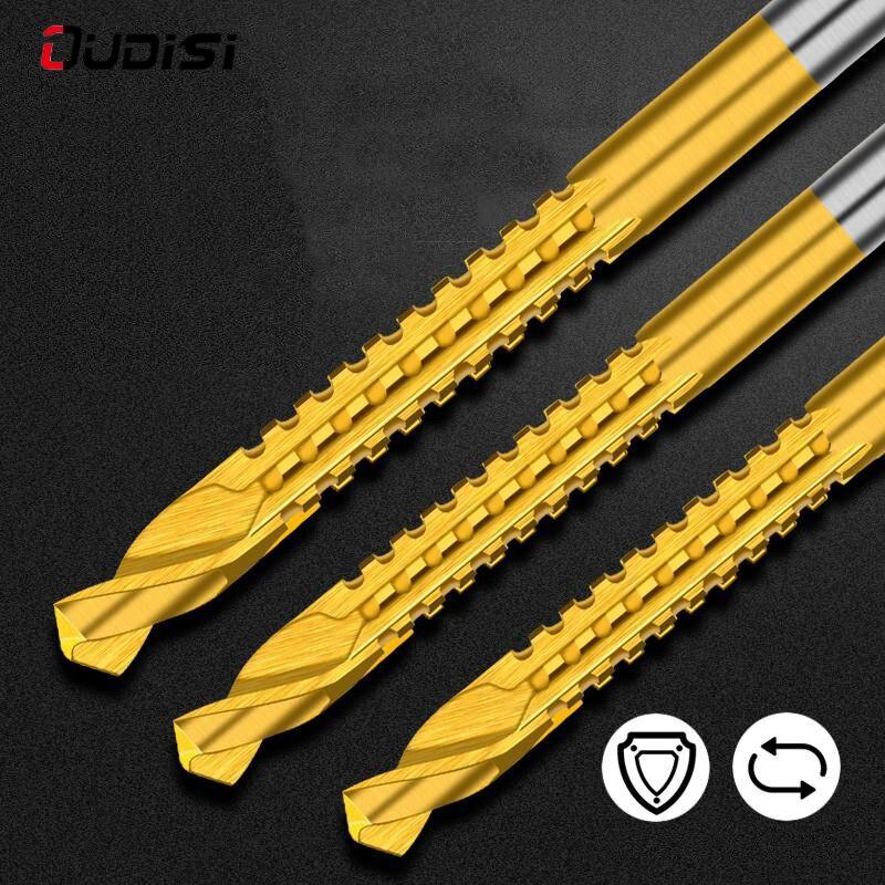 Купить набор зубчатых спиральных сверл 6 шт многофункциональные спиральные