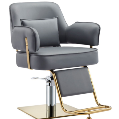 Salon Chair New Barber Chair Hair Salon Special Hair Salon Chair High-end Haircut Chair Stainless Steel Chassis