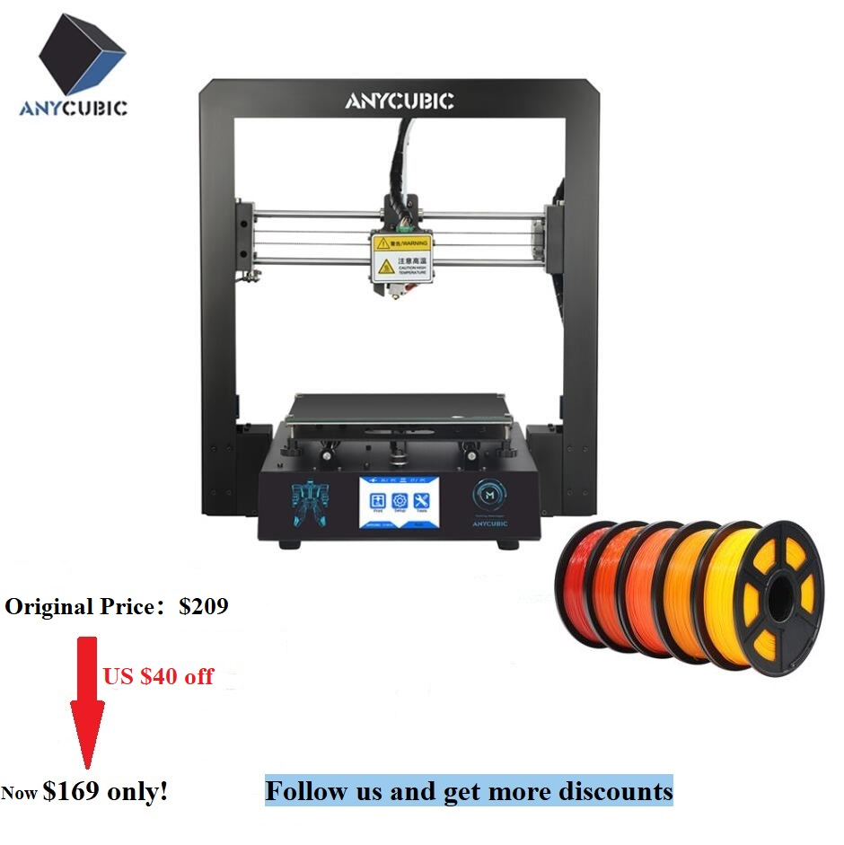 Anycubic 3d-Printer Drucker-Parts Large Plus-Size High-Precision I3 Mega Touch-Screen title=